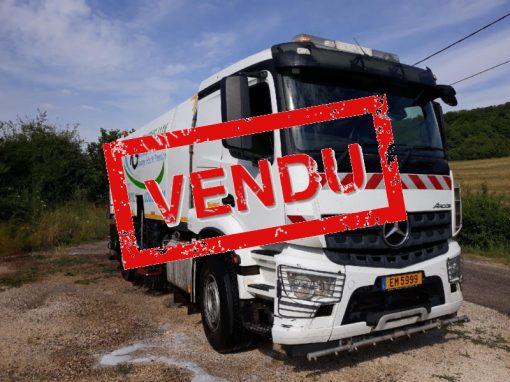 Mercedes-Benz AROCS – BALAYEUSE BROCK SL 280 – 210 000€ (HT)